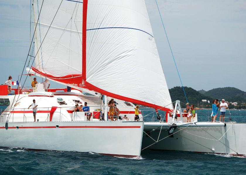 Sailing catamaran Nautitech 82 Cabin Charter
