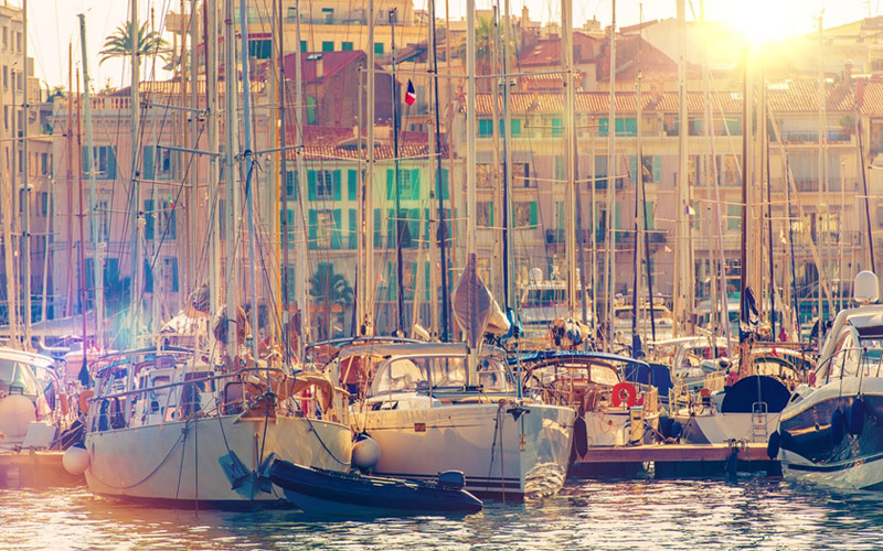 Cote d' Azur Französische Riviera Yachtcharter