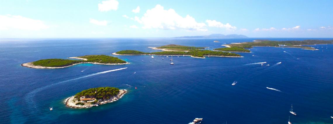 yacht charter Reiseziele