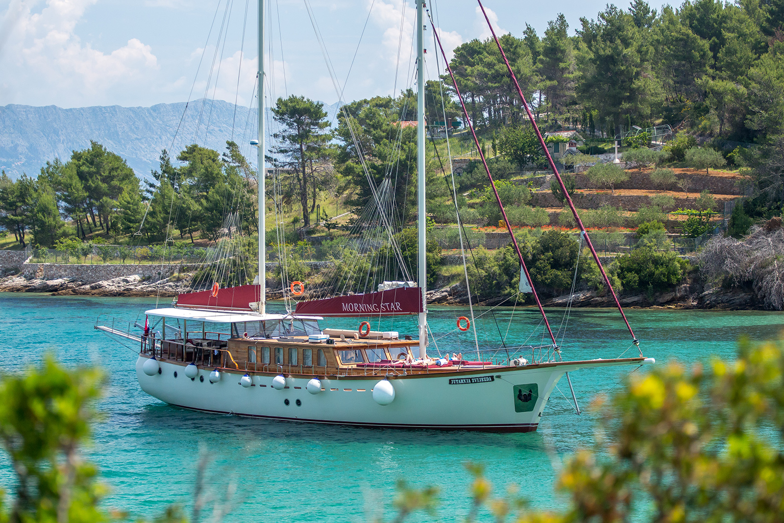 MORNING STAR - Luxury Gulet in Croatia