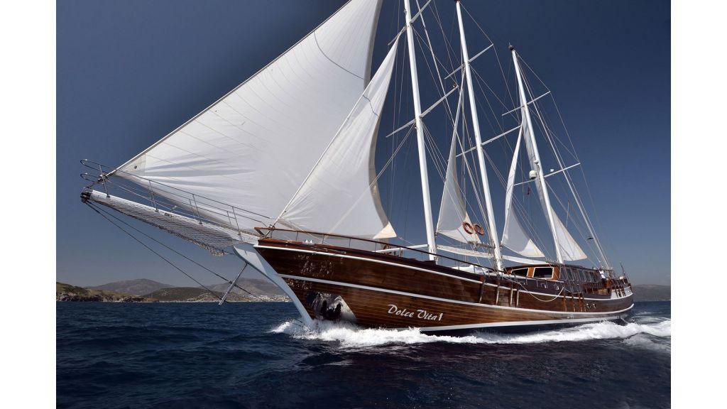 DOLCE VITA -Luxus 5 Kabinen Gulet in Kroatien