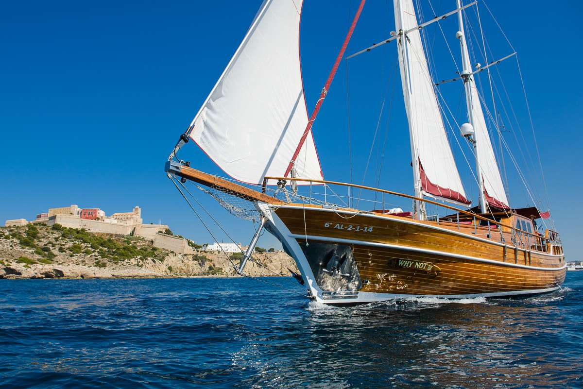 WHY NOT III - charter Gulet in Ibiza