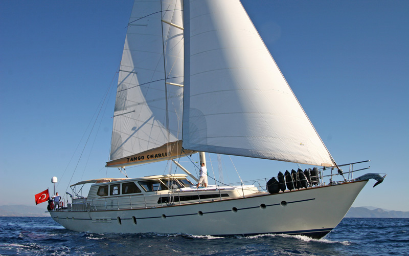 S/Y Tango Charlie Gulet Charter